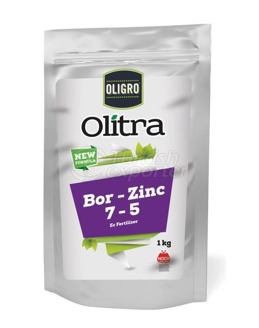 Olitra Bor Zinc 7-5