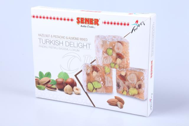 Delight mix hazelnt pistchio almond