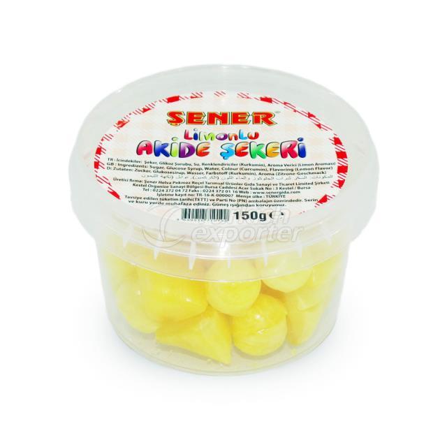 Lemon Rock Candy