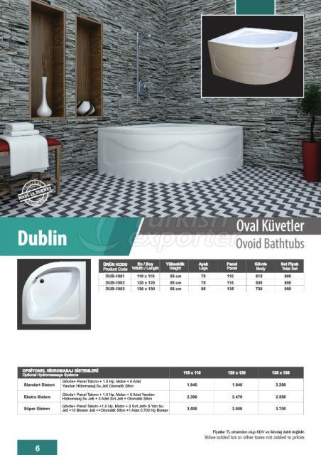 Ovoid Bathtubs Dublin