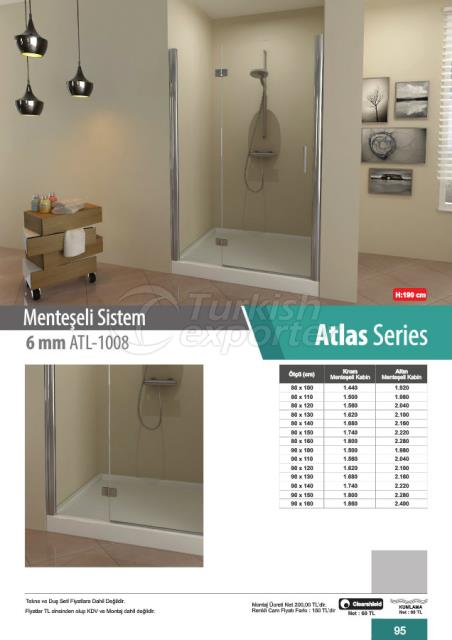 Shower Cabin Hinged Atlas