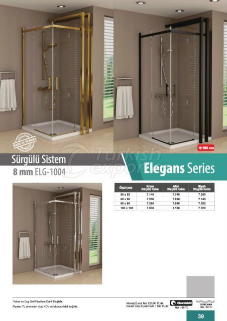 Shower Cabin Sliding Elegans