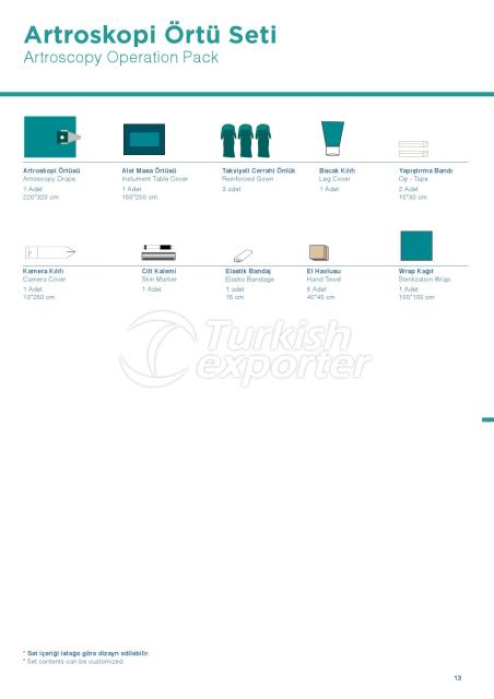 ATROSCOPY OPERATION PACK