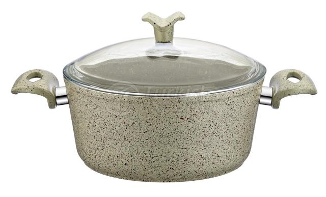 Granite Deep Saucepan