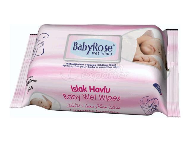 Baby Rose - Baby Wet Towel