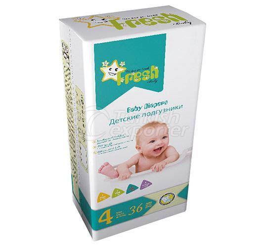 Fresh Baby - Maxi Baby Diapers
