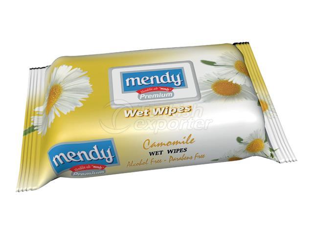 MENDY FLOWER SER. WET WİPES 4