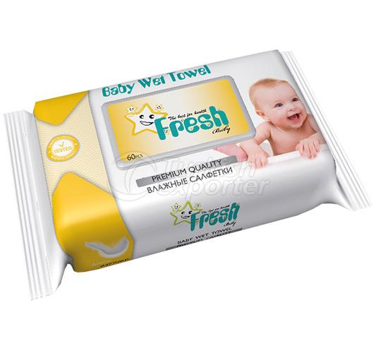 FRESH BABY BABY SERİES 1 WET TOWEL