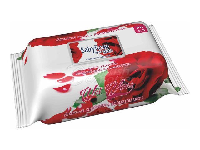 Baby Rose - Baby Wet Towel Rose