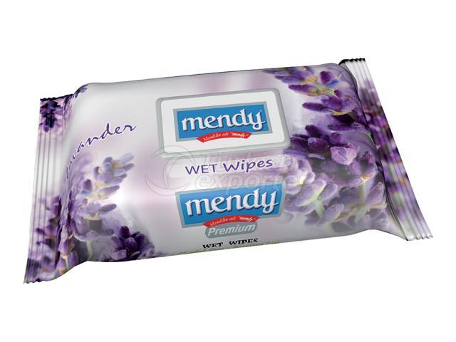 MENDY FLOWER SER. WET WİPES 2