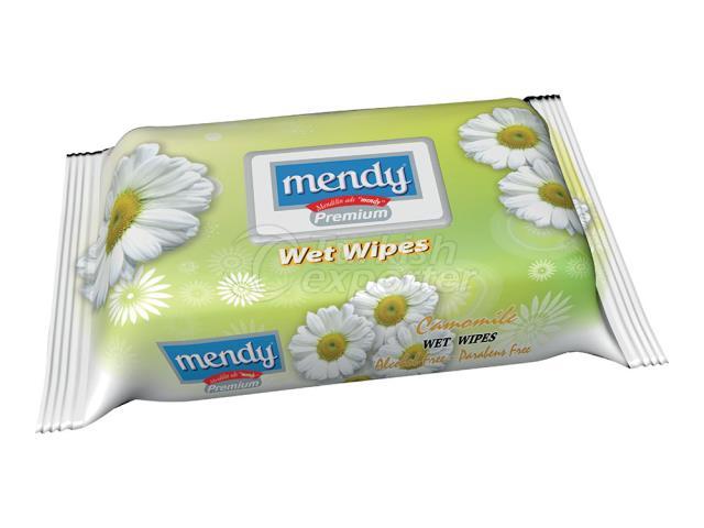 MENDY FLOWER SER. WET WİPES 6