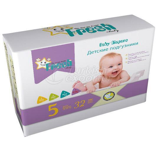 Fresh Baby - Junior Baby Diapers
