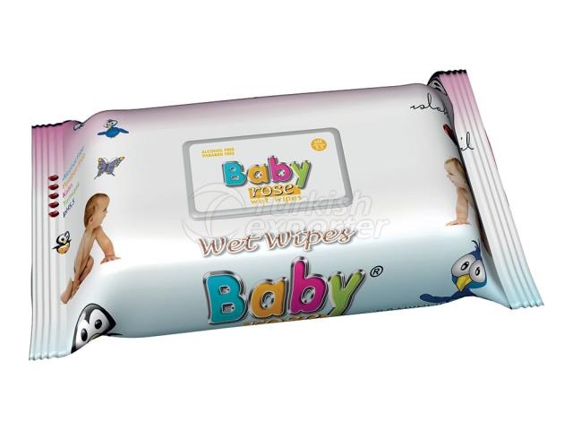 BABY ROSE BABY SERİES 3 WET WİPES