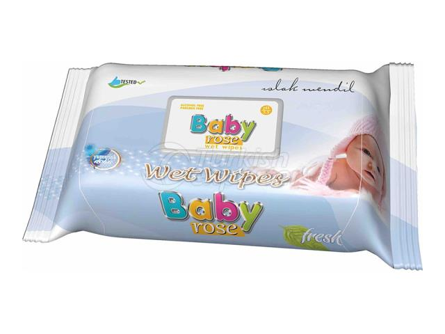 BABY ROSE BABY SERİES 1 WET WİPES