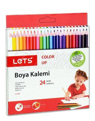Coloured Pencils Lets L-4124