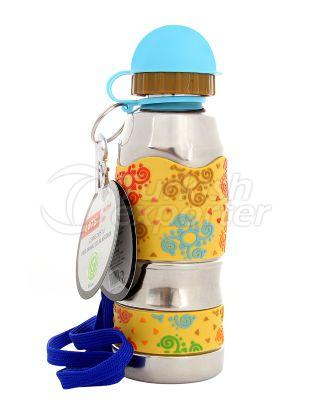 Stainless Steel Water Bottle Lets L-9100