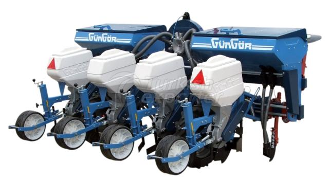 Pneumatic Air Planter Fertilized 4