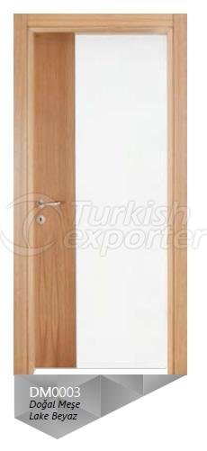 Lacquer Paint - Nat. Oak Veneered Door