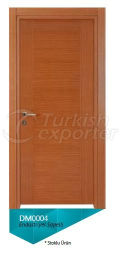 Eng. Sapelli Veneered Door