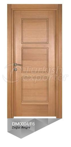 Nat. Anigre Veneered Door