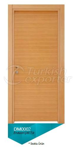 Eng. Teak Veneered Door