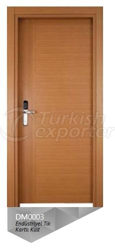 Eng. Teak Veneered Door with Card Lock