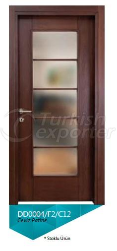 Decorative Glazed Door