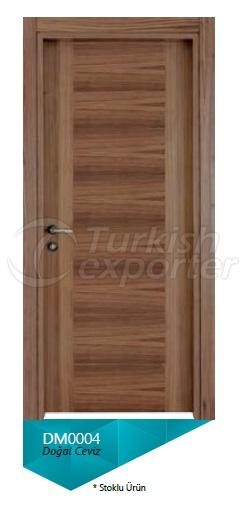 Nat. Walnut Veneered Door 5