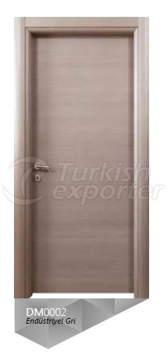 Eng. Grey Veneered Door