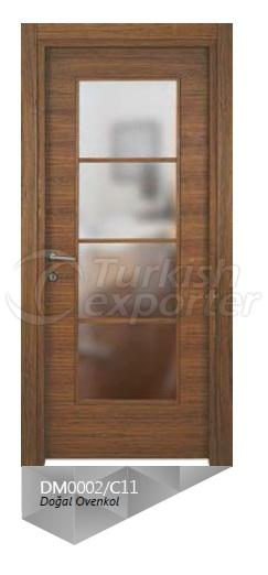 Nat. Ovenkol Veneered Door