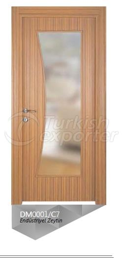 Eng. Olive Veneered Door