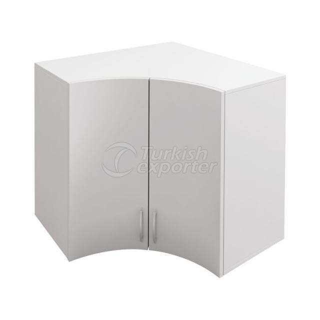 Curved Cabinet Doors Top Corner