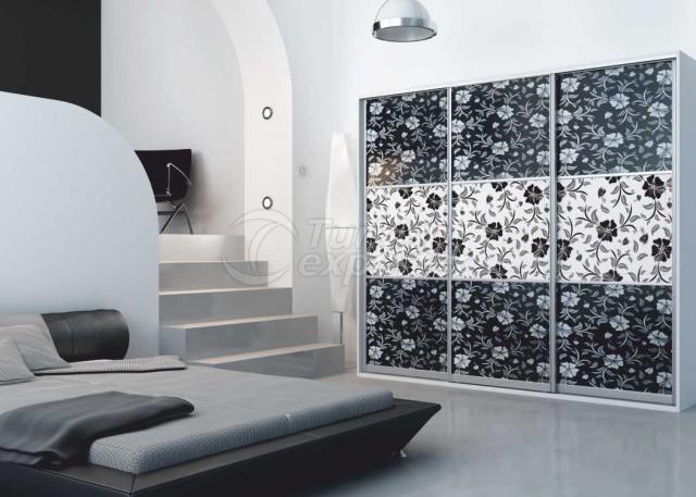 Membrane Cabinet Doors 101 Siyah Yonca