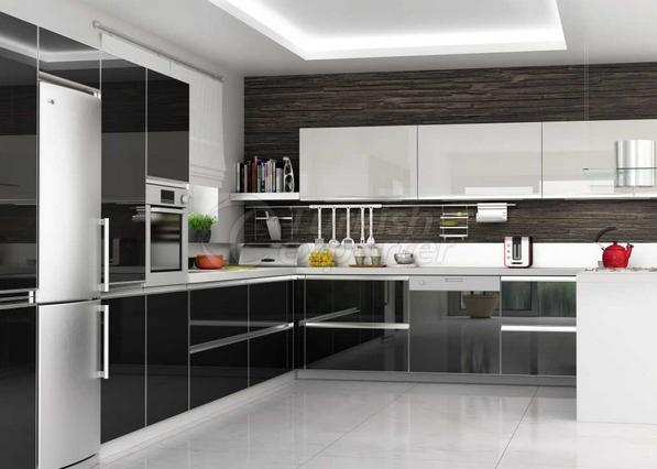 Aluminium Framed Acrylic Cabinet Doors 90