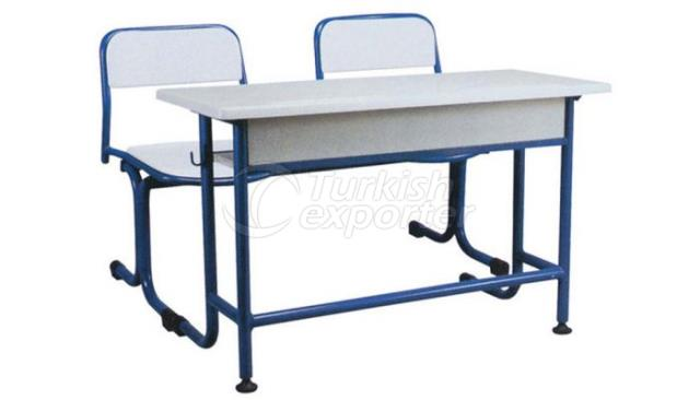 School Desk Single Werzalite