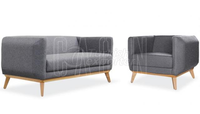 Sofa and Armchair Retro