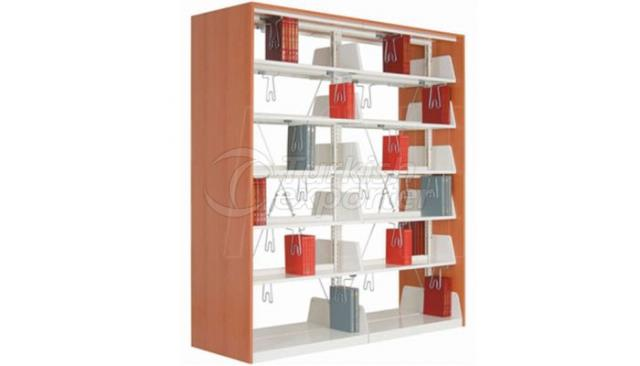 Bookcase Dual Double Sized