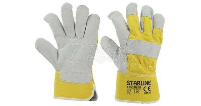 Leather Gloves E-110192C-SR