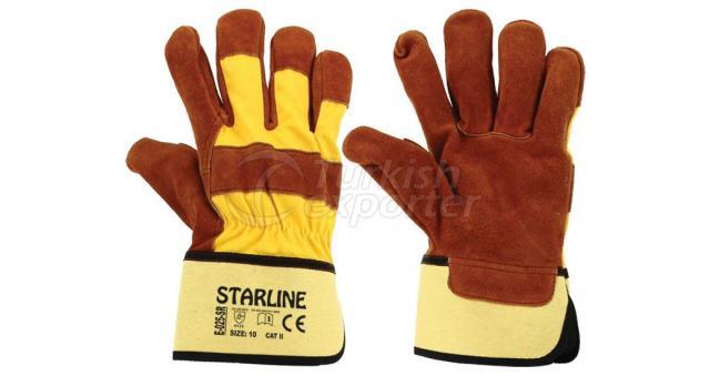 Leather Gloves E-025-SR