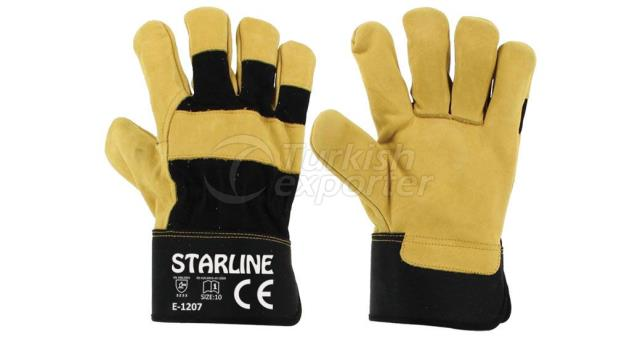 Leather Gloves E-1207