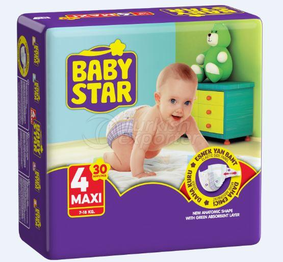 Baby Star Twin Maxi 40 pcs
