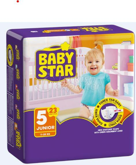 BABY STAR TWIN JUNIOR 23 PCS