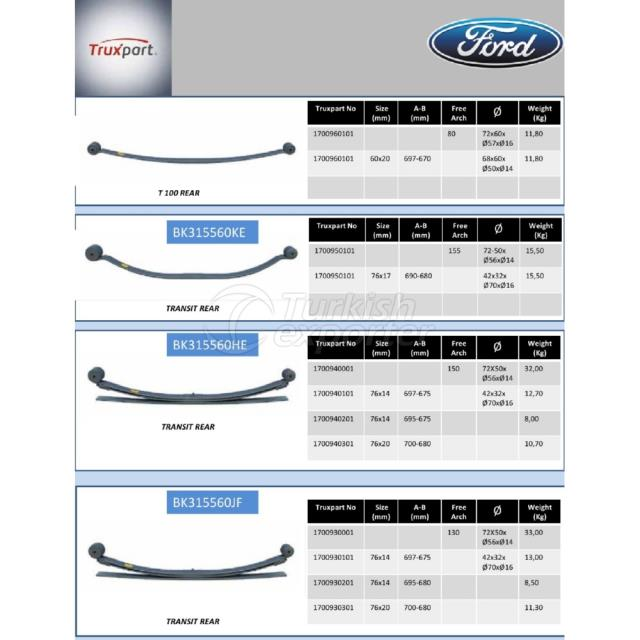 Leaf Springs Ford