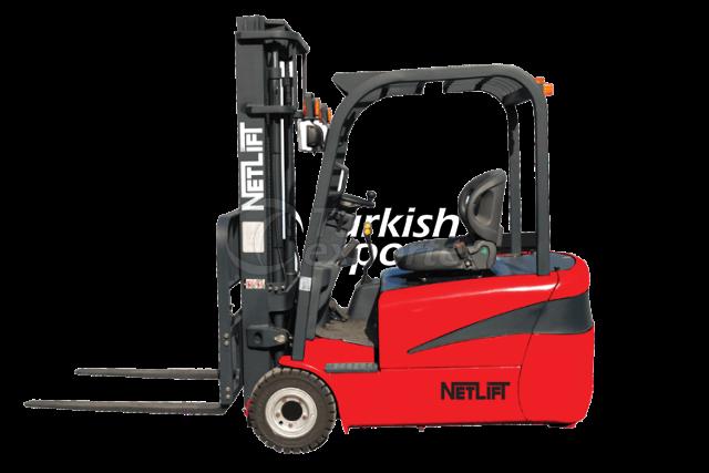 3 Teker 1.3t-1.6t-1.8t-2t Elektric Forklift Truck