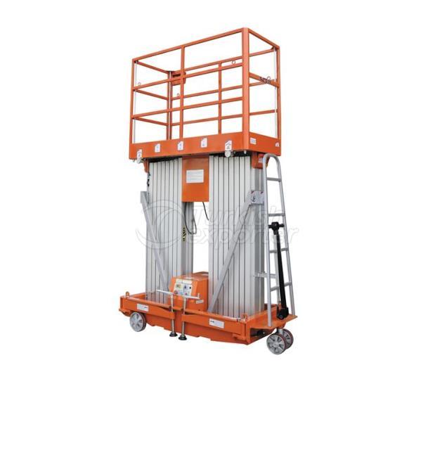 Aluminium Dual Mast Work Platform NL-DMAP 14