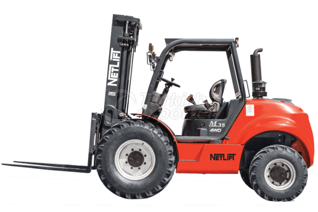 4WD Rough Terrain Forklift Truck 2.5t - 3.5t