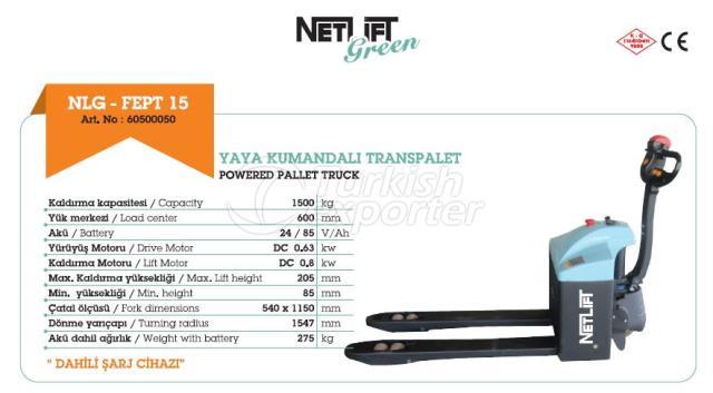 NLG-FEPT 15 POWERED PALLET TRUCK