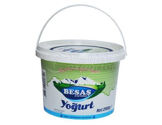 Semi-Skimmed Yoghurt 2kg