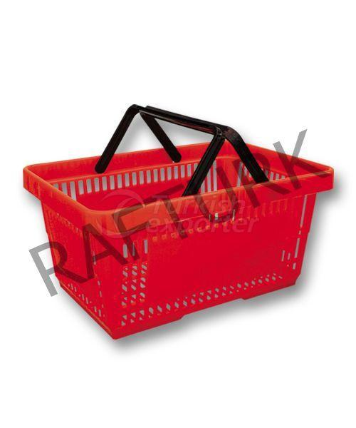 Market Plastic Hand Basket