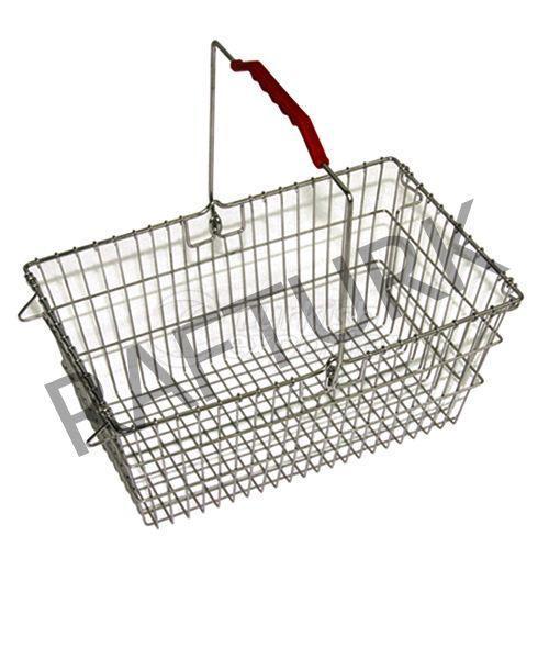 Market Metallic Hand Basket